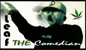 Leaf the Comedian green
